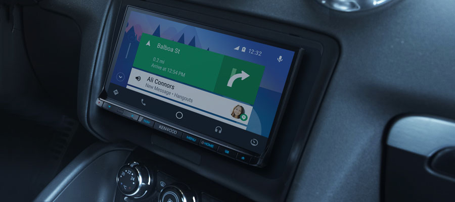 Kenwood Android Auto in-Dash