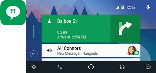 Android Auto Messages - Kenwood