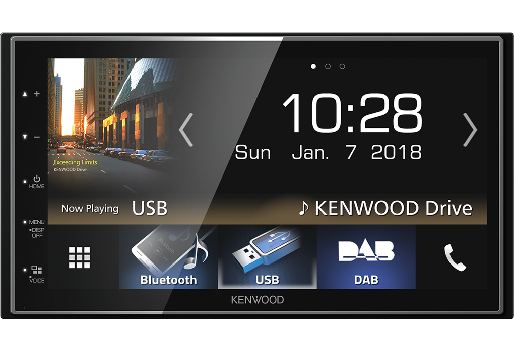 Kenwood DMX7018DABS with Android Auto