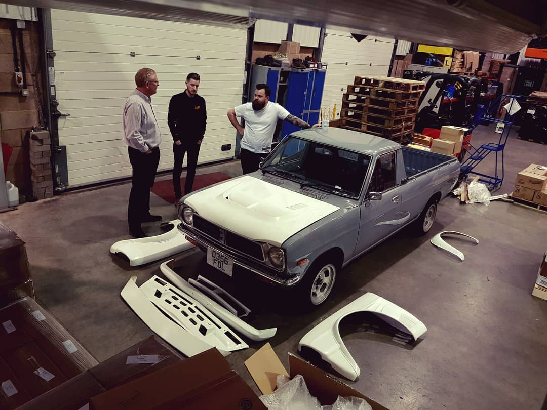 Grafting a Hakosuka Skyline front end