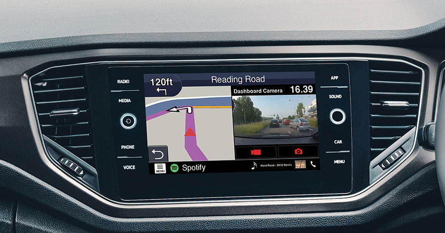 VW composition navi upgrade MIBII by Kenwood