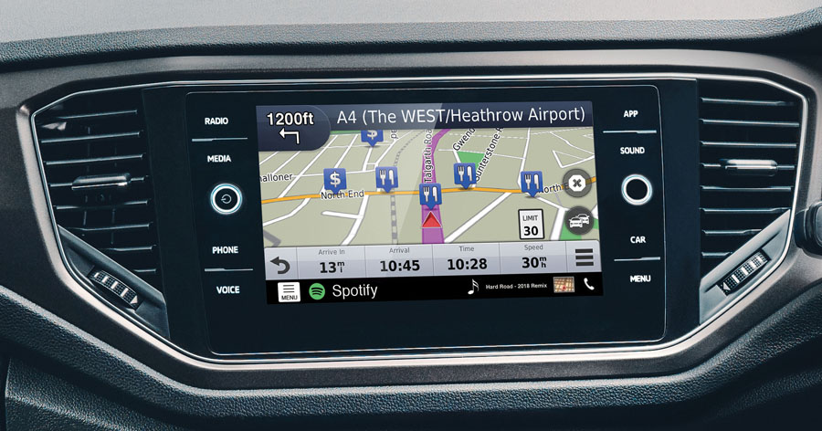 VW composition navigation upgrade MIBII by Kenwood