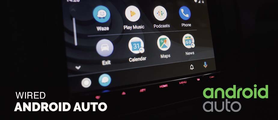 Wired Android Auto DMX8019DABS