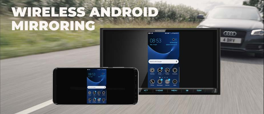 Wireless Android smartphone mirroring