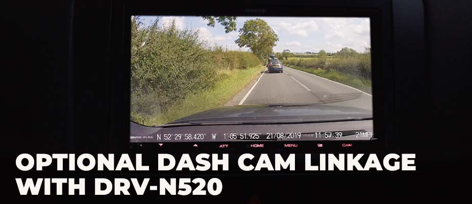 Dash Cam integration with DMX8019DABS