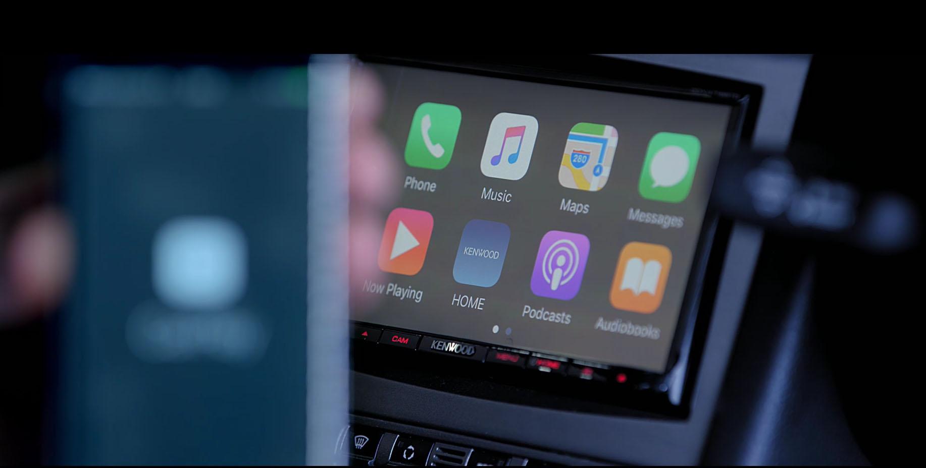 Apple CarPlay • KENWOOD UK