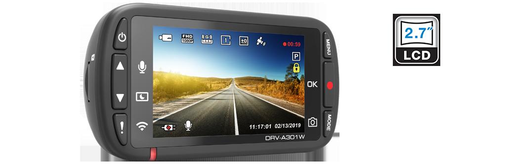 dash cam HDR DRV-A301W