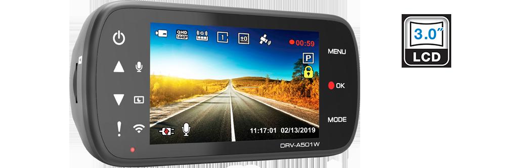 dash cam HDR DRV-A501W