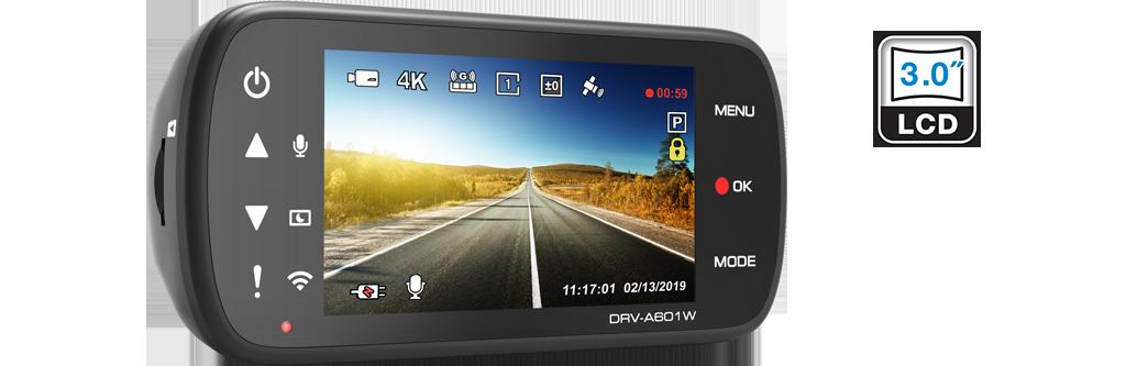dash cam HDR DRV-A601W
