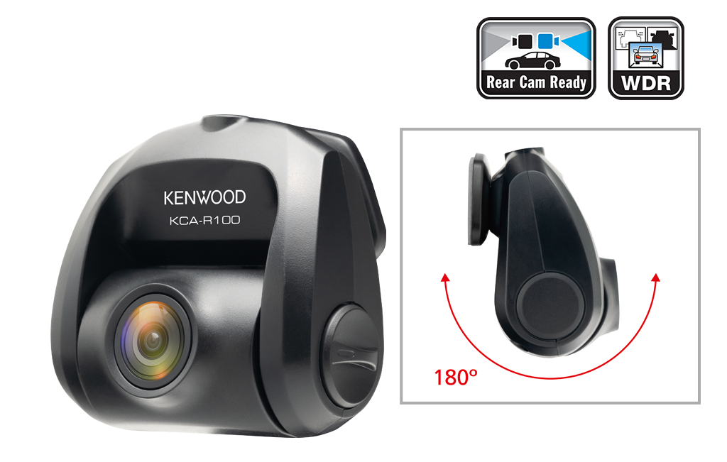 KCA-R100 180 degree angle view